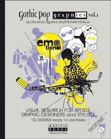 ARKIVIA+BOOKS+Gothic+Pop+Graphics+vol.1