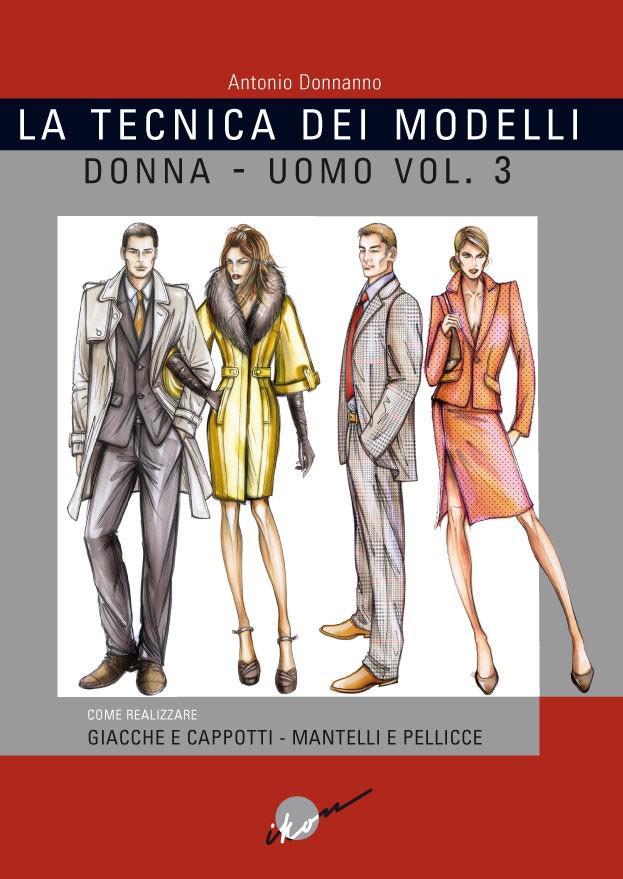 Tecnica+dei+modelli++Vol.3+DONNA-UOMO