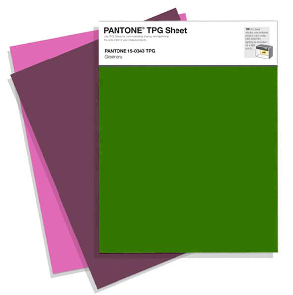Pantone® Fashion Home + Interiors TPG Sheet