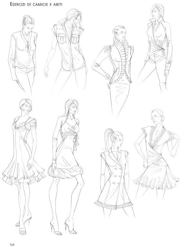 La tecnica dei modelli uomo donna. Come realizzare abiti