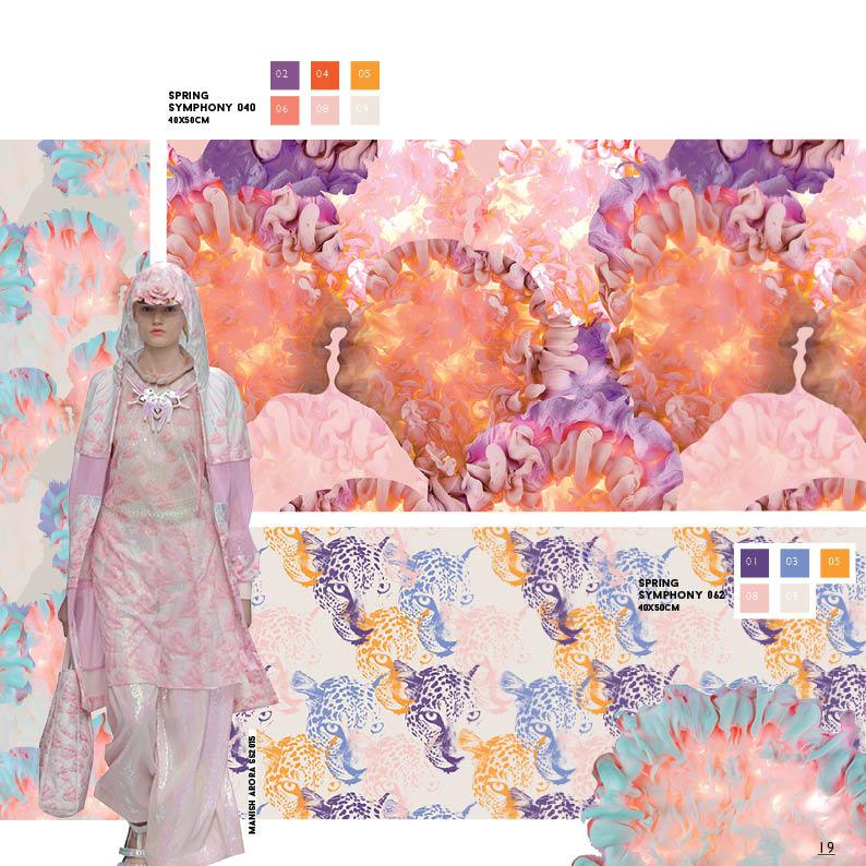 Design Plus Textile Patterns - Dip&Dye