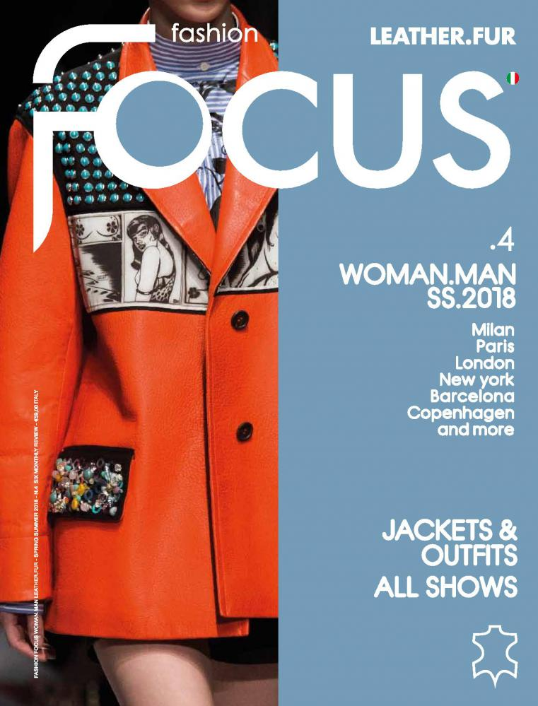 Fashion Focus Man / Woman Leather.Fur