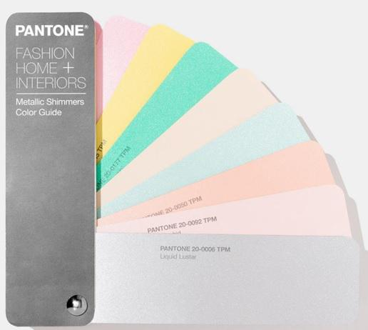 Pantone® Fashion Home + Interiors Metallic Shimmers Color Guide