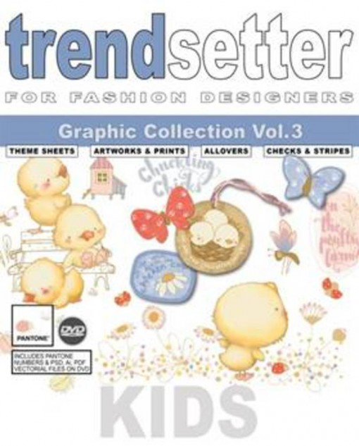 Trendsetter+Kids+Graphic+Collection+Vol.3+incl.+dvd